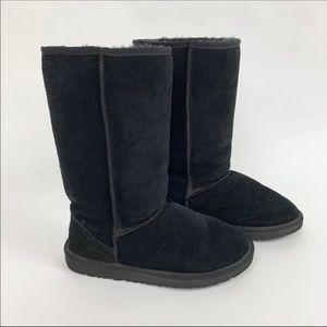 UGG Classic Tall Black Boots 5815 sz 9